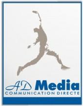 Bienvenue chez AD Media !  Depuis 1996 - toute la logistique du marketing direct : faxmailing - emailing - SMS - print - mailing postal - Fichiers BtoB & BtoC Garantis Des solutions électroniques (Faxmailing / Emailing / SMS) de prospection et de fidélisation. - Ciblage BtoB et BtoC multicanal, enrichissement de bases de données, qualification téléphonique...  - La logistiques complete du publipostage mailing et VPC :  - Sourcing enveloppe, imprimés marketing - imprimés commerciaux d'usage. - Routage postal Destineo France et international & contrôle de fabrication.